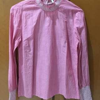 Pink stripes stradivarius