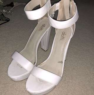 Ditto White heels