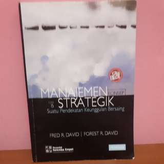 Manajemen strategik Fred R. David edisi 15