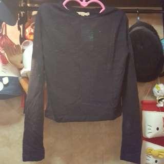 (100%新)Zara 淨色針織上衣【黑,S size】