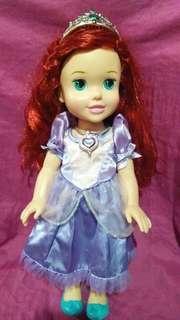 Original Disney Ariel with Sofia the 1st dress Toddler Doll