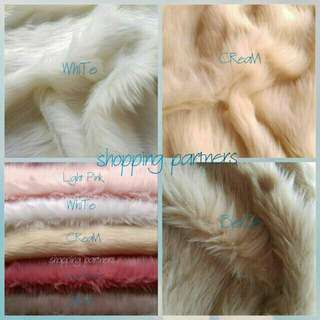 Fur Fabric For Photoshoot/Other