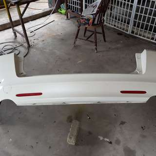 honda odyssey rb1 type m bumper front and rear and side skrt