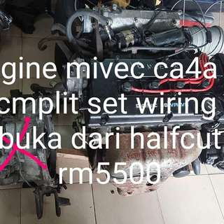 Engine mivec rs blacktop 2 wayer buka dari halfcut