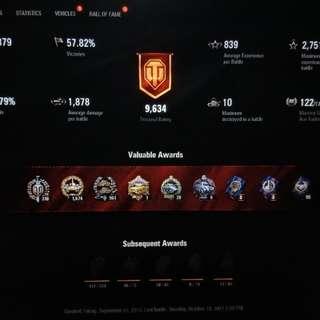 World of Tanks PC Account