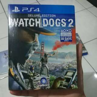 Watch dogs 2 Deluxe Edition PS4 Region 3