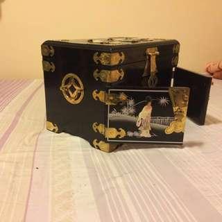 古色古香首飾箱 vintage jewellery box