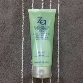 ZA cleansing foaming gel 140g