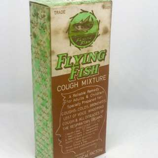 Vintage Flying Fish Cough Mixture