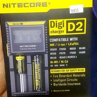 Nitecore Digi D2 Charger