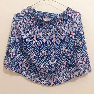 H&M Tribal Skirt