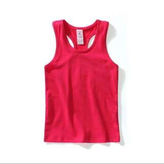 **Clearance**Hot kids Candy Tank Tops - Hot Pink
