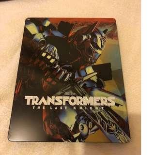 變形金剛 終極戰士 Transformers The Last Knight 香港鐵盒版 4K UHD + Blu-ray 中文字幕