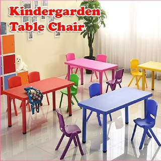 KINDERGARDEN TABLE CHAIR