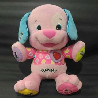 Lilly - Fisher Price Laugh & Learn, Love to Play Pink Puppy