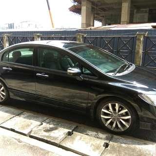 Honda civic 2.0 i-vtec