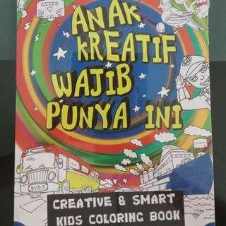 Creative & Smart Kids Coloring Book, anak kreatif wajib punya ini