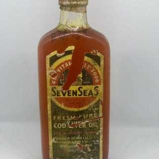 Vintage Seven Sea Cod Liver Oil