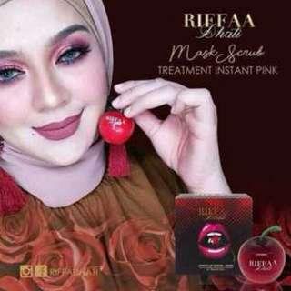 Riffa Pinky Lip Scrub Mask