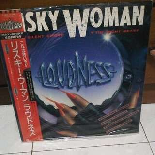 LP..VINYL...LOUDNESS...SKY WOMAN