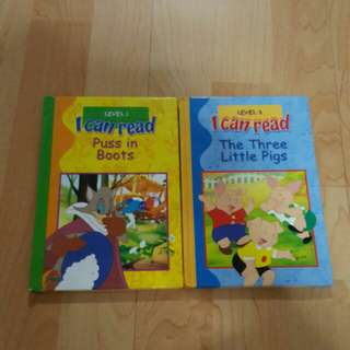 I Can Read series - 2 books