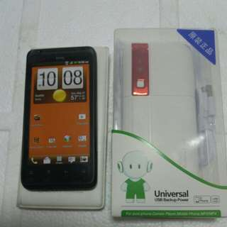 Htc mobile phone brand new and power back no box only mobile phone