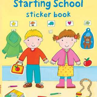 [FREE MAIL]BN Usborne Time for school