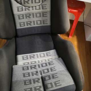Bride seat with Honda fit bracket