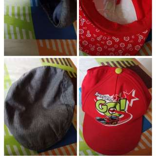 Preloved H&M and zara hat size 4-6 years