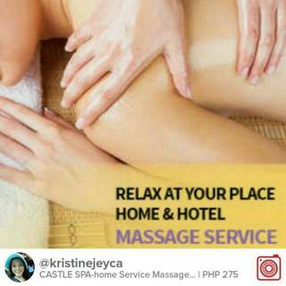 Home Service Massage