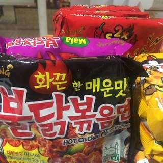 Samyang Korean noodles