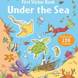 [FREE MAIL]BN Usborne Under the sea