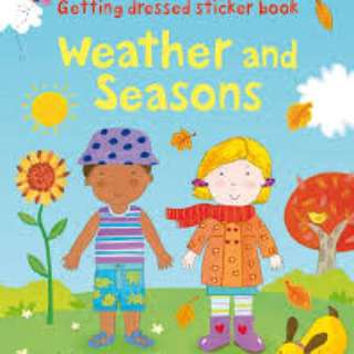🚚 [FREE MAIL]BN Usborne Weather and seasons