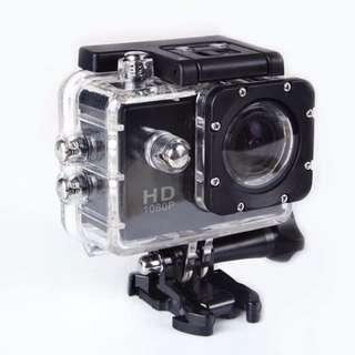 Sport Action Camera Full HD 1080P Waterproof Camcorders (White/Black)