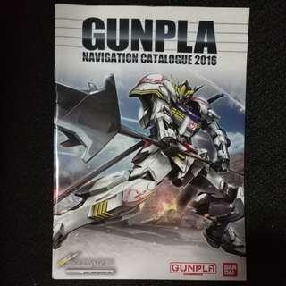 Gunpla Navigation Catalogue 2016