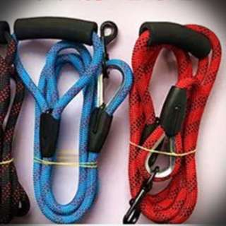 *Free Black Harness* Dog Leash, 3 Meter Long (Blue Colour Only) *No Meet Up*