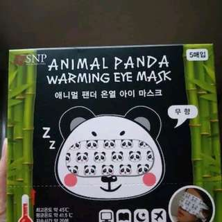 SNP Panda odoless print /Tea lime morninga warming eye mask
