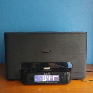Sony alarm clock + speaker