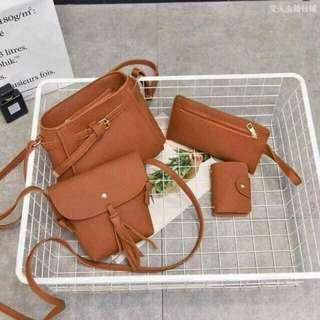 4in1 set of bag
