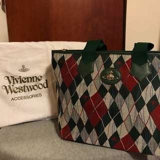 Vivienne Westwood checker bag 格子包