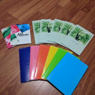 Set of 11 Brand New Photo Albums from Japan plus Two albums for standard photos