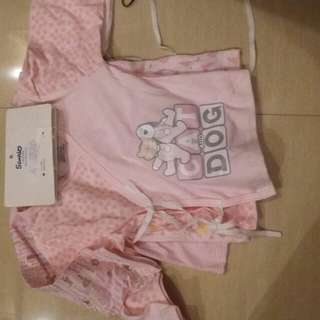 babies clothes 3pieces ( 3-6months )