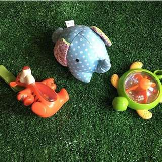 Baby Rattle and Teether Pack A