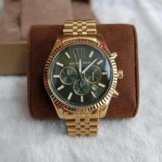 Michael Kors - Lexington Gold-Tone Watch