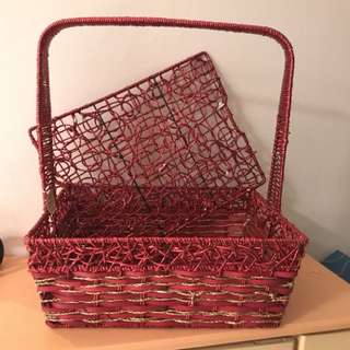 Red Basket for 过大礼 GDL