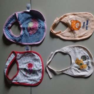 Baby Bibs and hats preloved