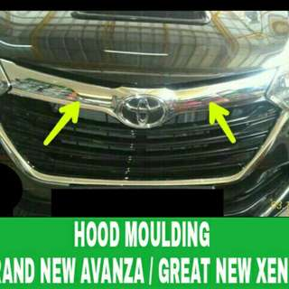 Hood moulding GRAND NEW AVANZA / GREAT NEW XENIA