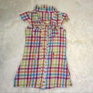 Preloved ❤ Checkered Blouse / Dress