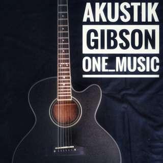 Gitar akustik (non elektrik)