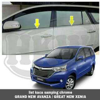 List kaca samping grand new avanza / great new xenia